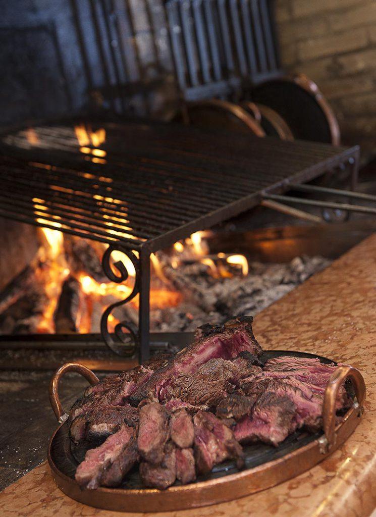 Carne alla griglia ristorante garda